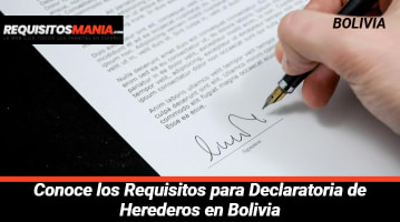 Requisitos para Declaratoria de Herederos en Bolivia