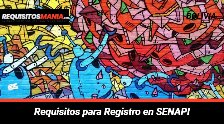 Requisitos para registro en SENAPI