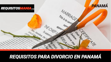 REQUISITOS PARA DIVORCIO